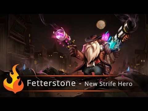 hero - Jess goes to S2 games to talk about their new hero being released on April 29th, Fetterstone. Enjoy the exclusive details and first look at him. Thanks for watching. Enjoy the game! Official...