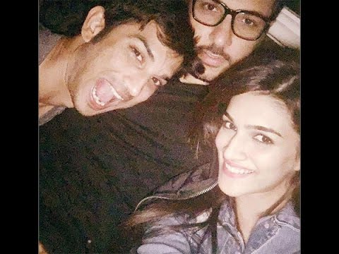 Sushant Rings In His Birthday With Kriti & Friends