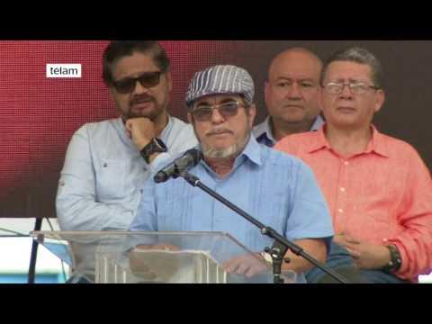 Las Farc terminaron de dejar las armas y Santos proclamó el fin del conflicto