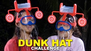 """""""This is the best game ever!"""" - Vanessa Merrell""""The Dunk Hat Challenge is the worst challenge ever. Do not recommend to buy."""" - Veronica Merrell""""I can't even!"""" - Paul MerrellThis is the Dunk Hat Challenge! Hope you guys enjoy it! :) We had a lot of fun playing this game! Let us know what challenges or games you want to see us play in the comments below! Subscribe: http://bit.ly/2dSP9FgSubscribe to our OTHER CHANNELS!!!!!MERRELL TWINS LIVEhttp://bit.ly/2pYeuoSMORE MERRELLhttp://bit.ly/2rITMIfCheck Out Our Other Videos:THIS COULD BE YOU - Viral Trendshttps://youtu.be/FNr2SvPwzycBTS THIS COULD BE YOU pt2https://youtu.be/1OmcxAikFtQDANCE PARTNER CHALLENGEhttps://youtu.be/1m0gP0L9ynUTESTING WEIRD PRODUCTShttps://youtu.be/CO9KR-8y1gIREAL FOOD vs. GUMMYhttps://youtu.be/Ms17Nubnt7EGet Merrell Twins Merch:https://www.districtlines.com/Merrell-TwinsWE HAVE MERRELL TWINS SOCKS!!!! 😱 Click this link to get our, """"These Are My Tuesday Socks"""": https://featsocks.com/products/merrell-twinsFOLLOW @featsocks :) SNAPCHAT: @merrelltwinsTWITTER: https://twitter.com/MerrellTwinsTWITTER: https://twitter.com/VanessaMerrellTWITTER:  https://twitter.com/veronicamerrellINSTAGRAM: http://instagram.com/merrelltwinsINSTAGRAM: http://instagram.com/vanessamerrellINSTAGRAM:http://instagram.com/veronicamerrellFACEBOOK: https://www.facebook.com/MerrellTwinsWEHEARTIT https://www.weheartit.com/merrelltwinswww.merrelltwins.com"""