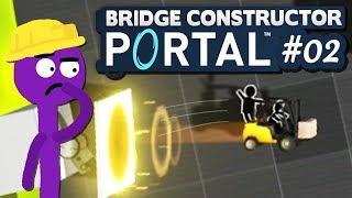 Schnell hinein, schnell hinaus! | 02 | Bridge Constructor PORTAL