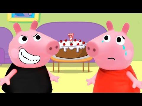 Pepita malvadinha estraga festa da Peppa Pig!
