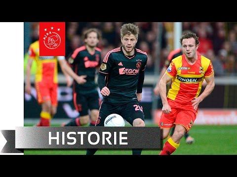 De laatste zes keer Go Ahead Eagles - Ajax