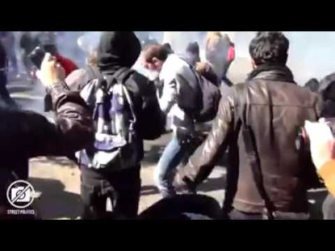 نابودی اروپا توسط مهاجران مسلمان - نارضایتی مردم و درگیری با پلیس/4