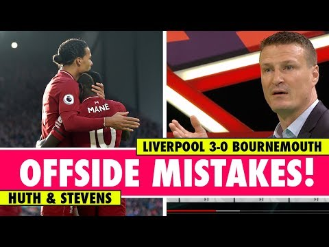 Linesman Not To Blame For Offside Mistakes? | Liverpool 3-0 Bournemouth | Astro SuperSport