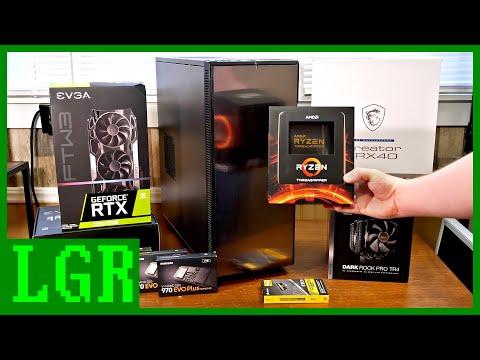 Building a New LGR Editing PC! Threadripper 3970X
