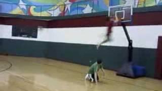 kryshchuk can dunk. HAHA
