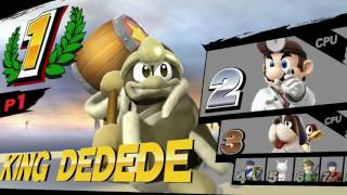 8 Player Special Smash & Custom Stages on For Glory – A Smash Code Showcase