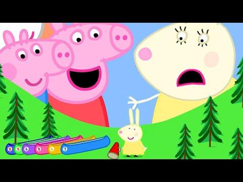 Peppa Pig en Español 🦞 Qué piedras tan grandes | Pepa la cerdita
