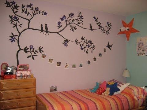 Dibujo ramas arbol videos videos relacionados con - Arboles en la pared ...