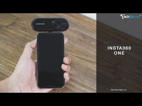 Đập hộp và giới thiệu Insta360 ONE
