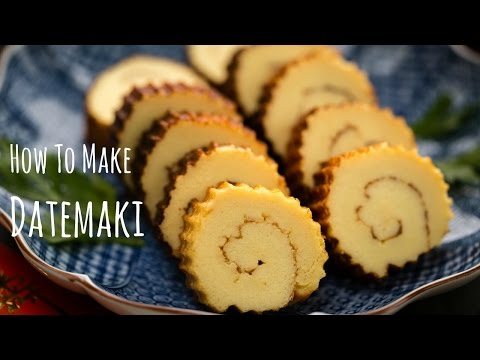 How To Make Datemaki (Sweet Rolled Omelette) (Recipe) 伊達巻の作り方(レシピ)