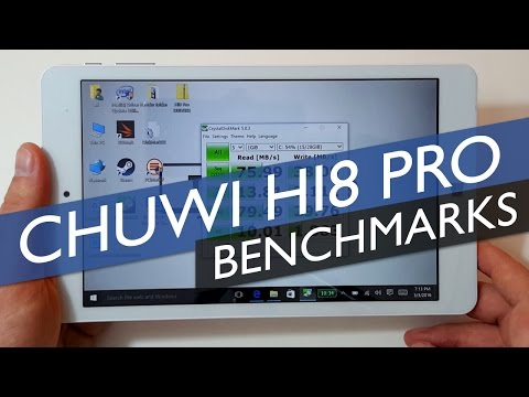 Chuwi Hi8 Pro: Power Issues & Benchmarks