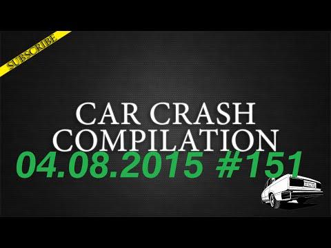 Car crash compilation #151 | Подборка аварий 04.08.2015