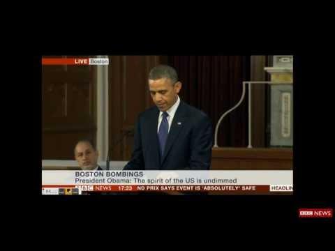 Barack Obama speech at the Boston Marathon memorial