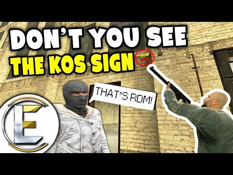 Garrys Mod - Don't You See The Small KOS Sign - Gmod DarkRP Life (Admin Sits And Hobo Takeover, Its NOT RDM?)