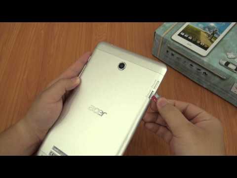 Hướng dẫn lắp Sim và Thẻ nhớ Acer Iconia A1 - 841 | www.thegioididong.com