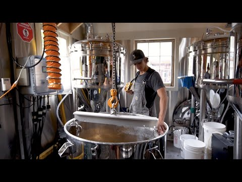 Brewing large in a small space -- building a craft microbrewery with a small footprint