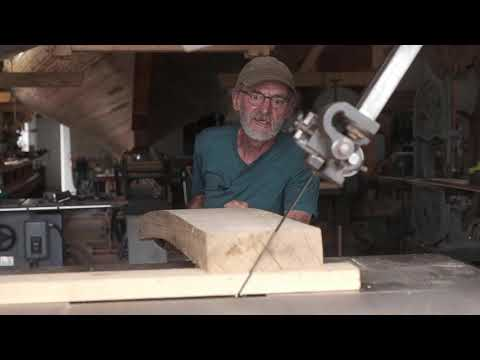 Building Evelyn: Making the upper transom frame, EP 8