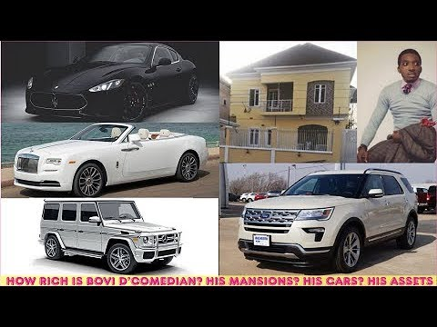 How Rich Is Bovi Ugboma (Comedian)? ► All Bovi's Mansions, Cars, Luxuries & Assets