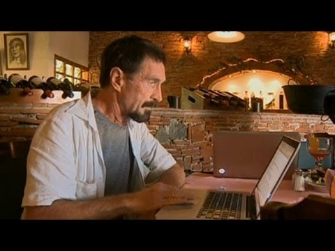 0 The Strange and Twisted John McAfee Saga