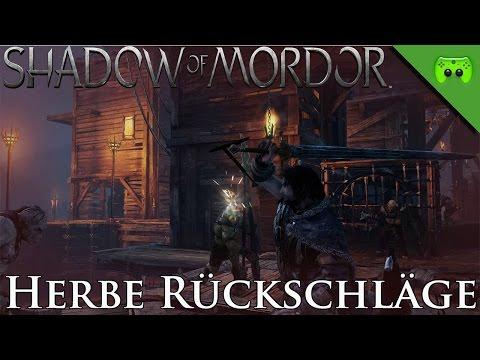 MORDORS SCHATTEN # 24 - Herbe Rückschläge «» Let's Play Mittelerde Mordors Schatten   HD