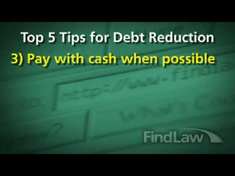 Reducing Debt: Top 5 Money Management Tips – FindLaw