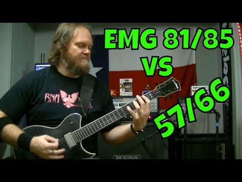 EMG Pickups 81/85 vs 57/66