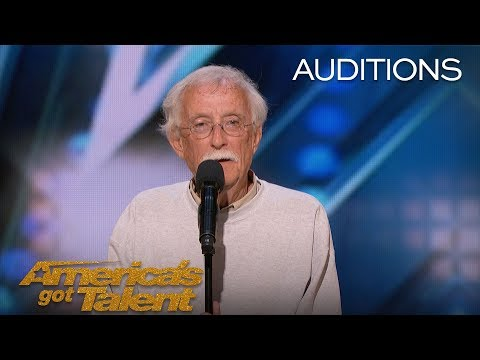 Image of: Charlie Chaplin 84yearold Comedian Wows Americas Got Talent 84yearold Comedian Wows Americas Got Talent Video 2018