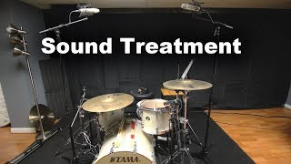 Video Sound Proofing My Drum Studio With Acoustic Blankets (Vocal Booth To Go) MP3, 3GP, MP4, WEBM, AVI, FLV Agustus 2019
