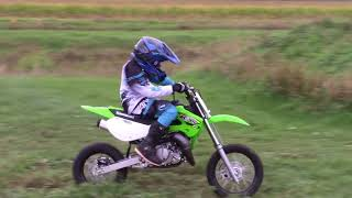 1. Buying a new 2018 Kawasaki KX65 and first ride on it!