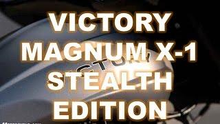 5. 2016 Victory Magnum X-1 Stealth Edition, Audacious sound, subtler visuals