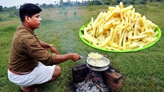 French Fries Recipe | Crispy French Fries Recipe | Homemade Village Food Channel