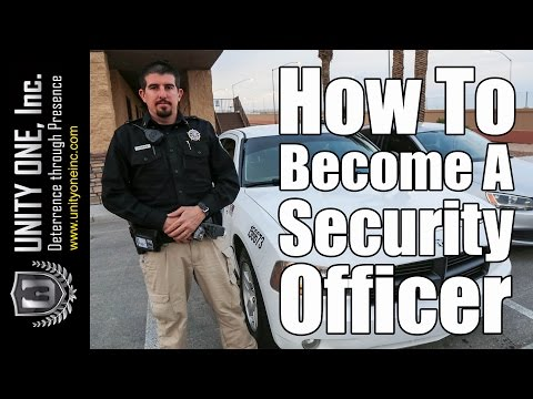 How To Become a Security Officer - Security Patrol Services in Las Vegas