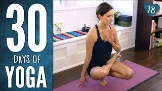 Day 18 - Wonder Yoga! - 30 Days of Yoga
