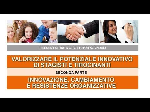 Il potenziale innovativo di stagisti e tirocinanti - parte 2/3