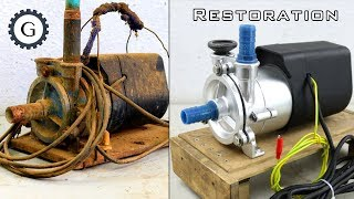 Video Electric Water Pump Restoration | Soviet Water Pump MP3, 3GP, MP4, WEBM, AVI, FLV Maret 2019