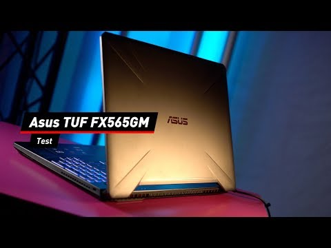 Asus TUF FX565GM: Gaming-Maschine im Test