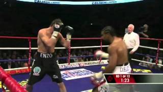 David Haye Vs Enzo Maccarinelli (WBC,WBA,WBO Cruiserweight Championships)