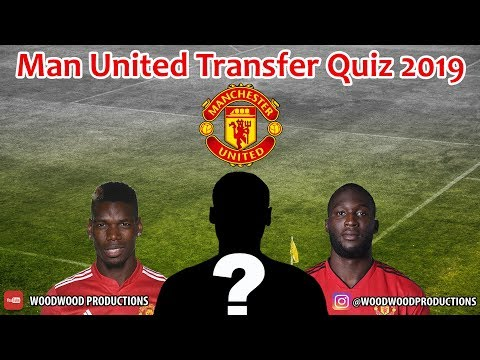 Manchester United FC  - Guess The Football Player Transfer History Quiz 2019 - Hard