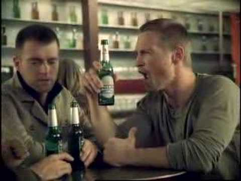 Becks beer commercial – helium
