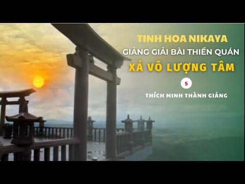 Tinh Hoa NIKAYA - Giảng Giải Bài Thiền Quán - Xả Vô Lượng Tâm 5