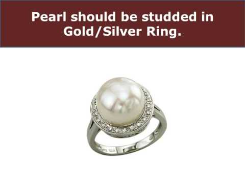 Astrological Rituals for Wearing Pearl