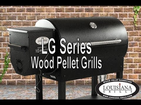 LOUISIANA GRILLS INTRODUCES THE LG SERIES WOOD PELLET GRILLS
