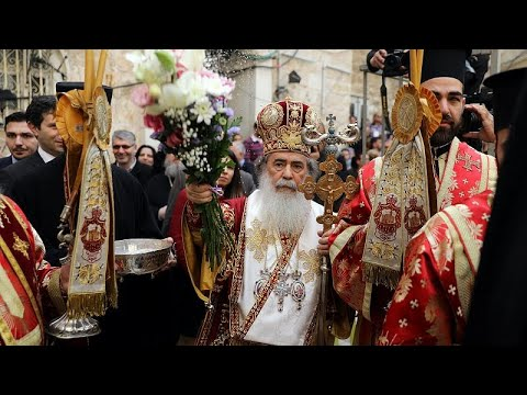 Ιεροσόλυμα: Η τελετή του νιπτήρος παρουσία πλήθους πιστών…