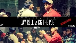 Ultimate Rap League | Jay Rell vs. KG The Poet