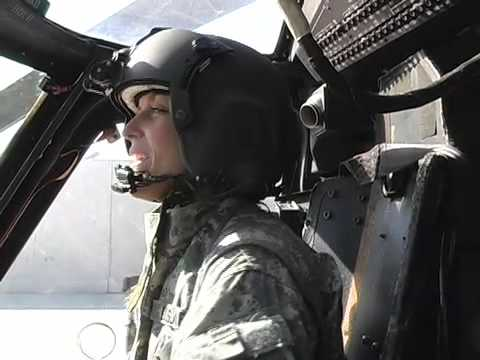 UH 60 - Captain Andrea Ourada, a Minnesota National Guard Blackhawk helicopter pilot, tells the story of her first combat action in Iraq.