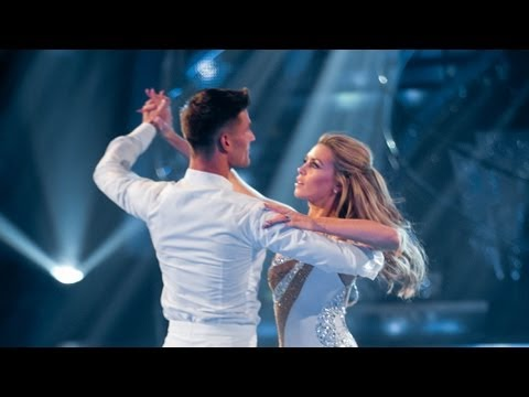 Waltz - http://www.bbc.co.uk/strictly Abbey Clancy and Aljaz Skorjanec dance the Waltz to 'Kissing You'.