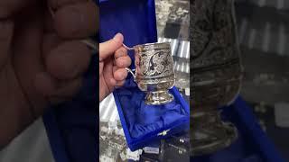 Серебряная кружка «Кубачи»