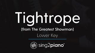 Video Tightrope (LOWER Piano Karaoke) Michelle Williams MP3, 3GP, MP4, WEBM, AVI, FLV Februari 2018